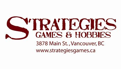 Strategies Games & Hobbies logo